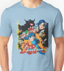 Mega Man 3 Japanese Ad art (Rockman 3) shirt NES / Famicom T-Shirt