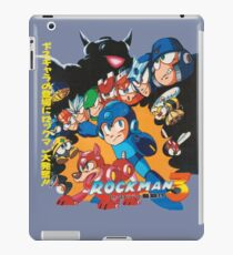 Mega Man 3 Japanese Ad art (Rockman 3) shirt NES / Famicom iPad Case/Skin