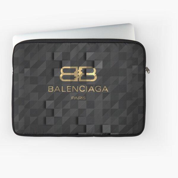 Das mit Balenciaga (Schwarz und Gold) gekennzeichnete Produkt bietet herausragende Klasse und gehypte Stimmung Laptoptasche