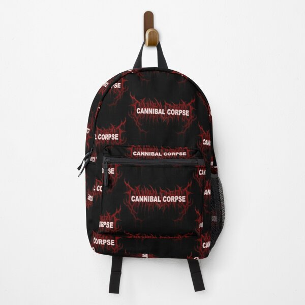 cannibal corpse logo is amazing97 Backpack