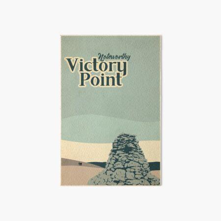 Victory Point Art Board Print