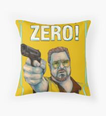 BIG LEBOWSKI- Walter Sobchak- Mark it zero! Throw Pillow