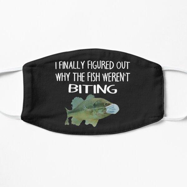 Fish wearing a mask Flat Mask