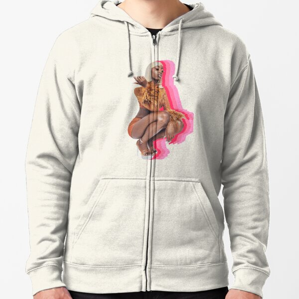 Flomilli <3 (pink) Zipped Hoodie