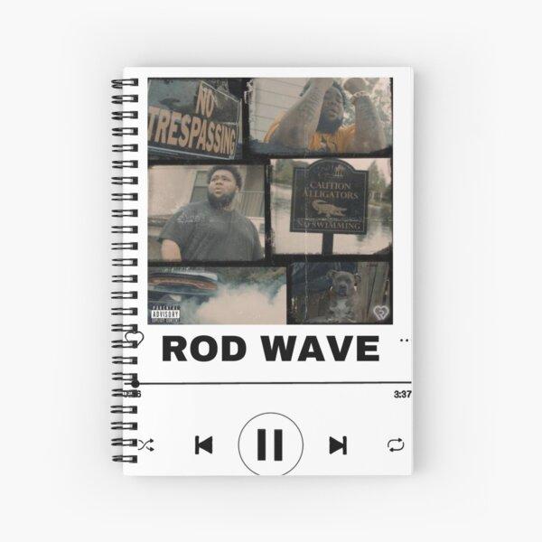 Rod wave Spiral Notebook