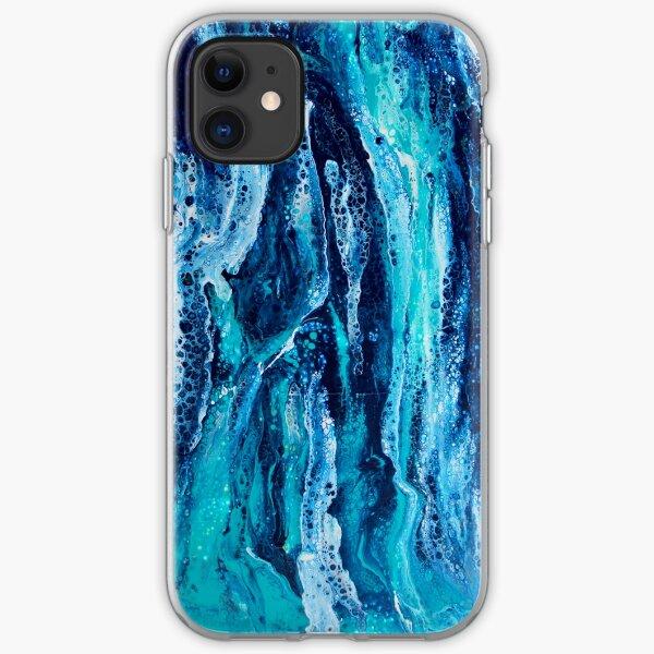 Deep Blue iPhone Soft Case