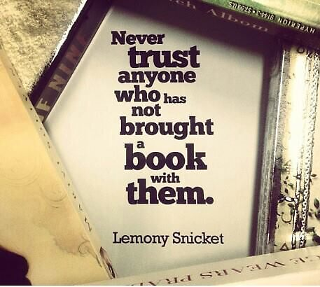 Book Quote - Lemony Snicket by niugnep27