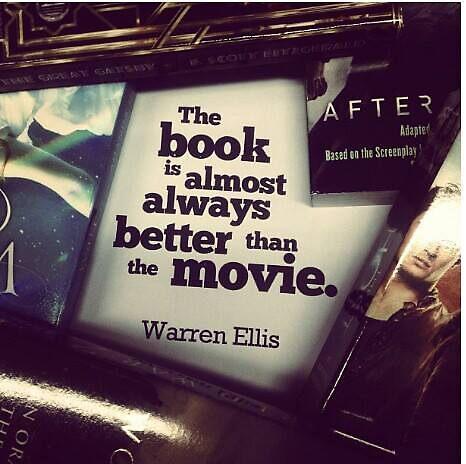 Book Quote - Warren Ellis by niugnep27