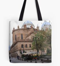 Streets of Cuenca Tote Bag
