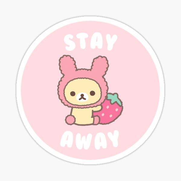 Kawaii Bear Sticker