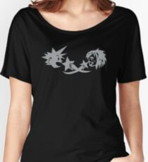 Kingdom Hearts: KairixSora Cave Etching Women's Relaxed Fit T-Shirt