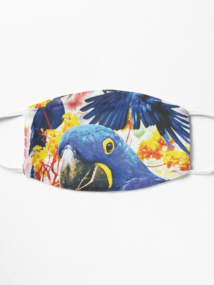 Alternate view of Parrot Design Mask