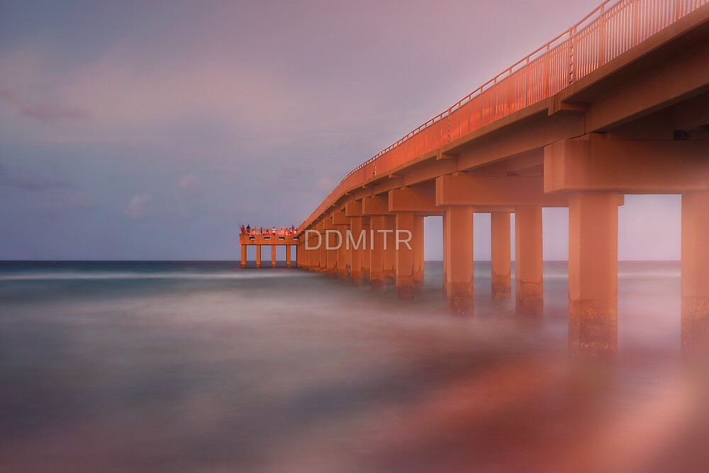 Newport Fishing Pier by DDMITR