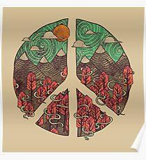 Peaceful Landscape Poster