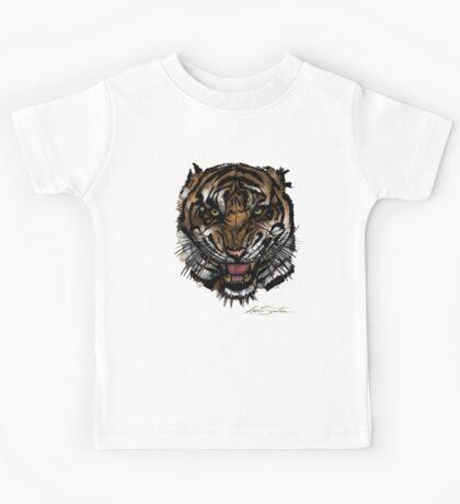 Tiger Face (Signature Design) Kids Clothes