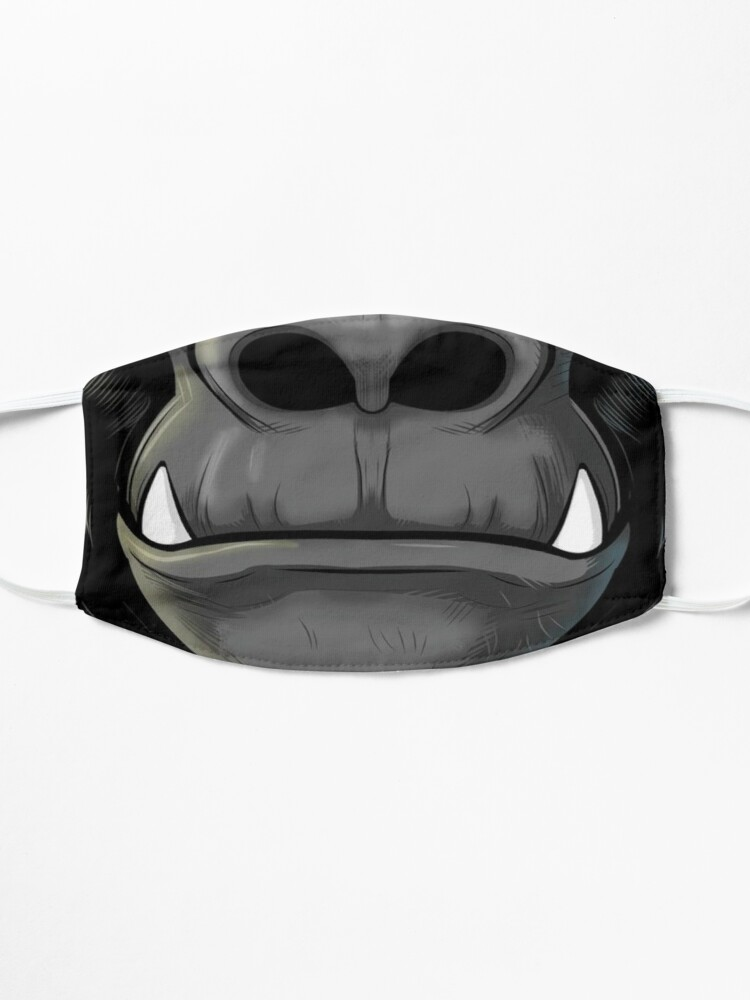 Alternate view of Mouth Design #4 Mask