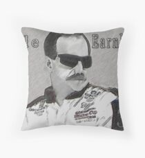DEDICATION TO DALE EARNHARDT SR. (INTIMIDATOR) NASCAR  Throw Pillow