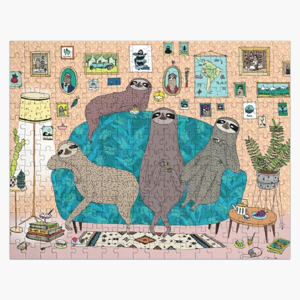 Lazy Sloths Jigsaw Puzzle