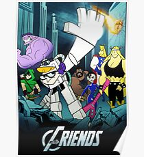 The Justice Friends Poster