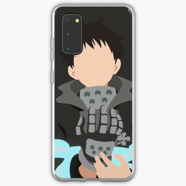 Fire Force Minimalist Art Samsung Galaxy Soft Case
