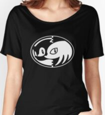 Sonic & Knuckles Monochrome Logo Women's Relaxed Fit T-Shirt
