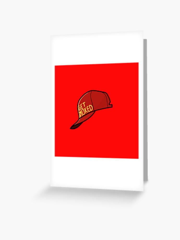 Get Smoked Persona 5 Hat Shinya Oda Hat Cosplay Party Flat Bill Cap Snapback NEW