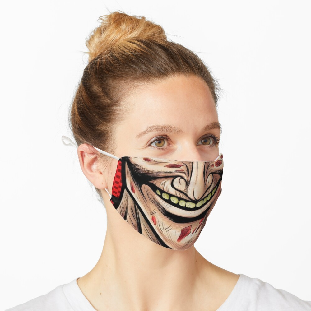 Mouth Design #6 Mask