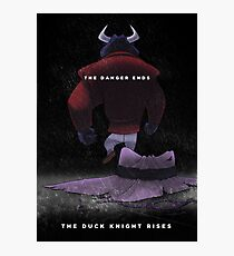 The Duck Knight Rises Photographic Print