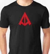 Below the Trucker Hat Unisex T-Shirt