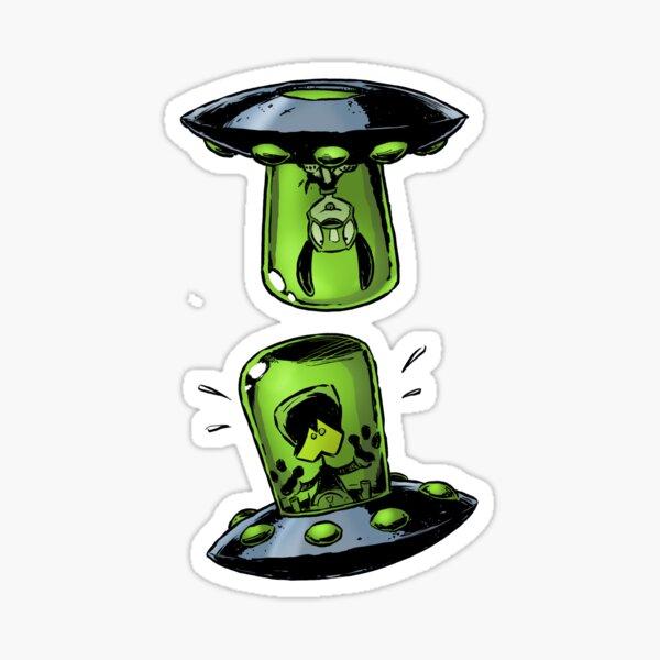 Aliens vs Puppies: Top Dog Sticker