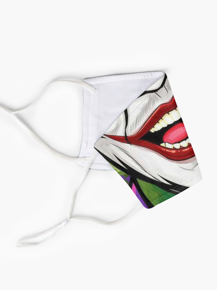 Alternate view of Mouth Design #8 Mask