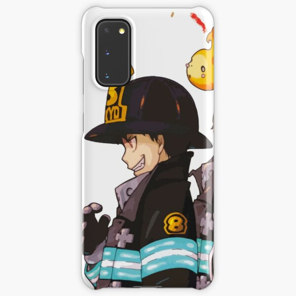 Fire Force Anime Art Samsung Galaxy Snap Case