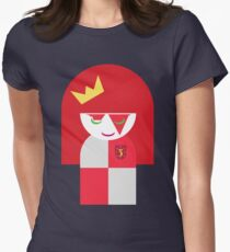 Queen of Moons Charlie (Tee 2) Women's Fitted T-Shirt