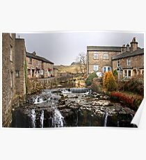 The River Ure at Hawes Poster