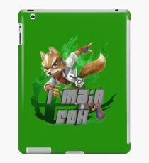 I MAIN FOX iPad Case/Skin