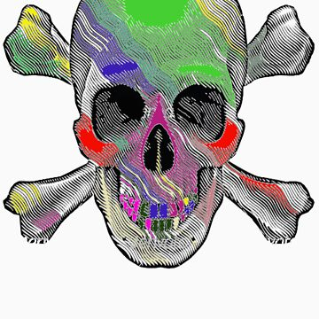 The Painted Skull by questionmark123
