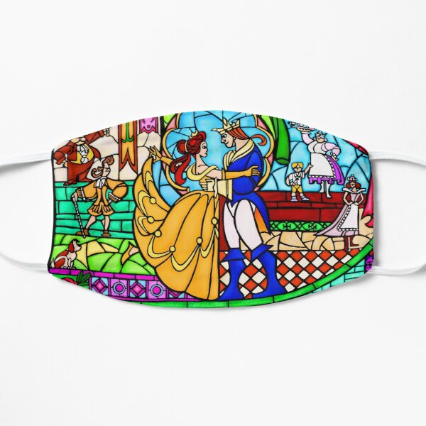 Patterns of the Stained Glass Window Flat Mask