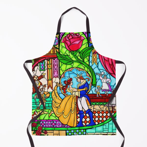 Patterns of the Stained Glass Window Apron