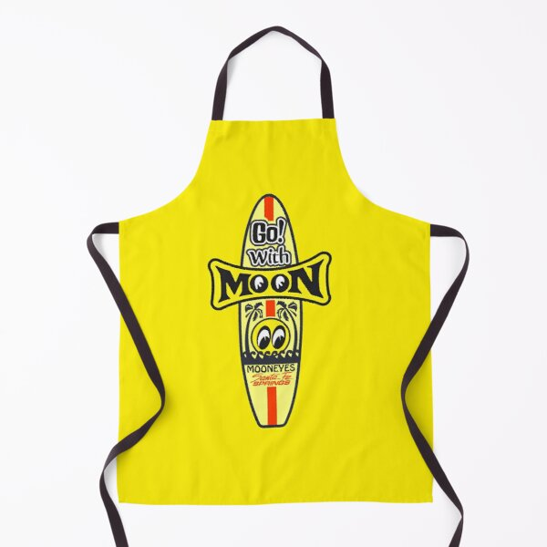 go with moon eyes  Apron
