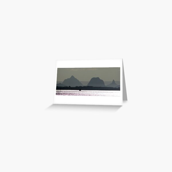 Glass House Mountains Greeting Card