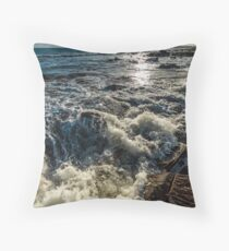 Morning Wave Wash Throw Pillow
