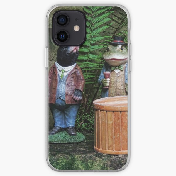 Ratty, Mole, Toad and Badger - Dewstow Gardens iPhone Soft Case