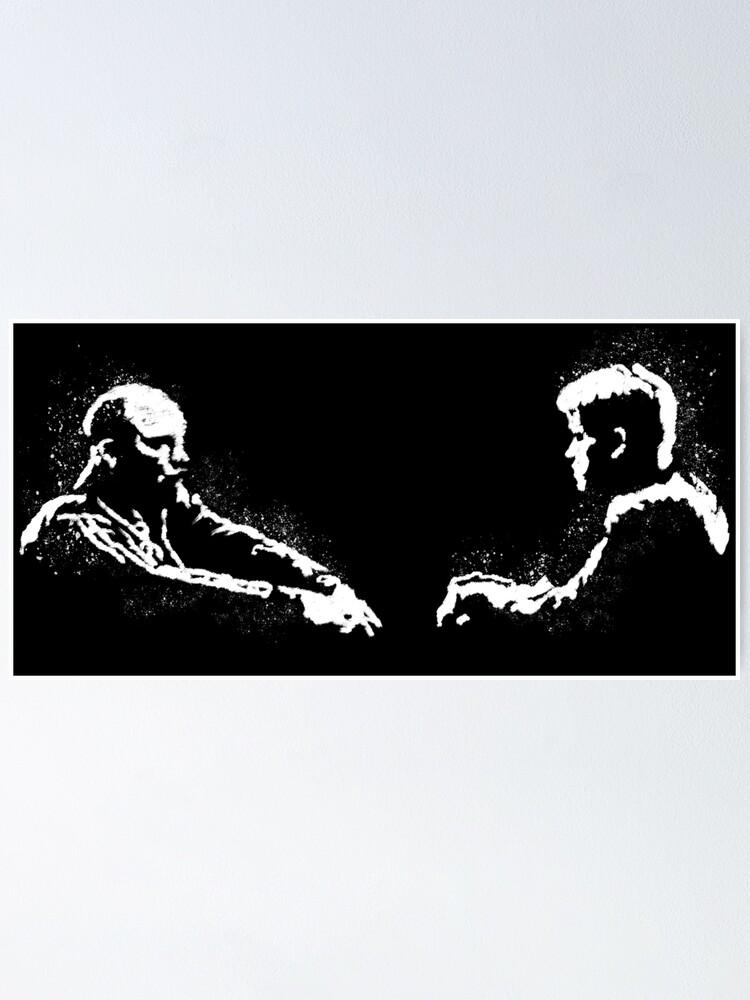 Alternate view of Teddy KGB v Mike Poster