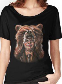 Bear Schrute Women's Relaxed Fit T-Shirt