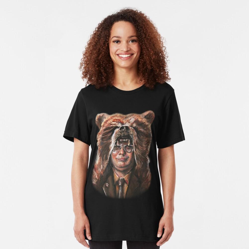 Bear Schrute Slim Fit T-Shirt
