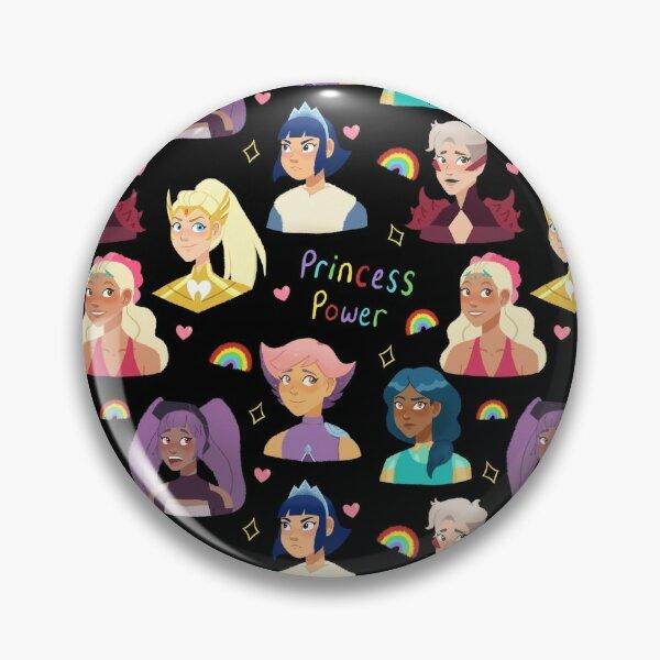 She-Ra Princess Power (Black) Pin