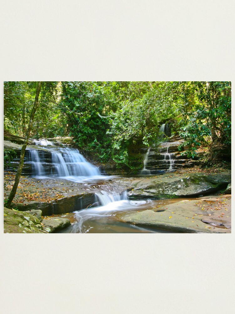 Alternate view of Serenity Falls Photographic Print