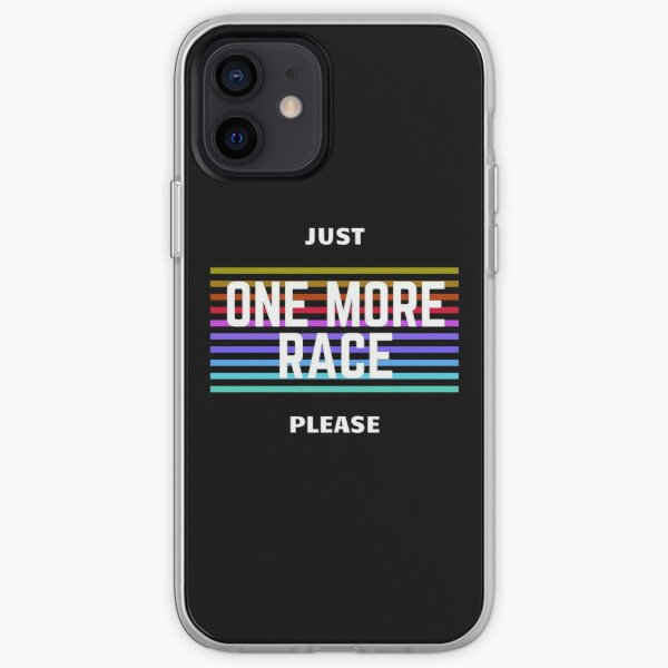 JUST ONE MORE RACE - SIM RACING iPhone Soft Case