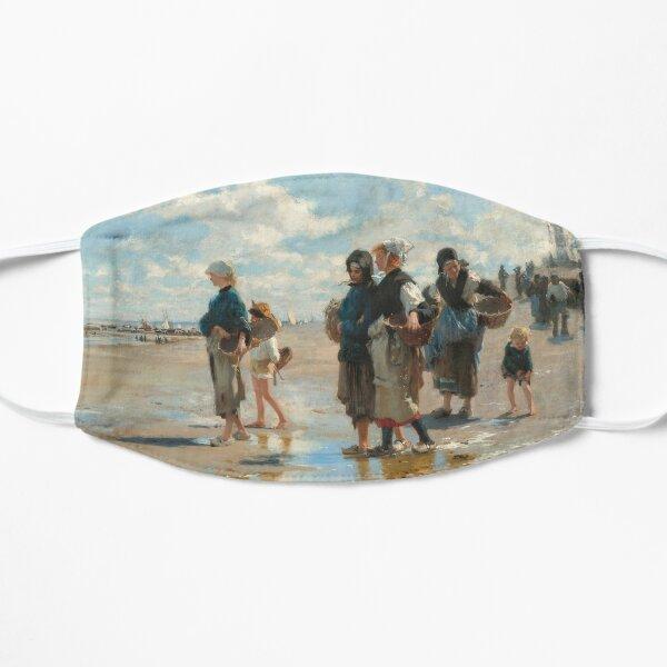 John Singer Sargent - En route pour la peche (Setting Out to Fish) Flat Mask