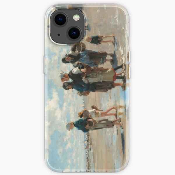 John Singer Sargent - En route pour la peche (Setting Out to Fish) iPhone Soft Case